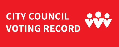 city council voting record